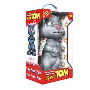 Говорящий кот Том (серый) интерактивная игрушка, фото 3