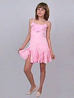 Сарафан детский для девочки летний  М -202 рост 116 122  розовый, фото 1
