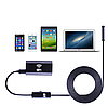 Эндоскоп wi fi. Диаметр 8 мм. Мягкий кабель