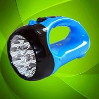 Bright High Power LED Lamp Yajia YJ-2817A. Фонарь аккумуляторный с ярким освещением