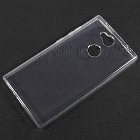Чехол накладка для Sony Xperia L2 H4311 силиконовый ультратонкий, Air Case, прозрачный