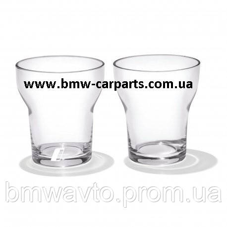 Набор из двух стеклянных стаканов BMW i 2018, фото 2