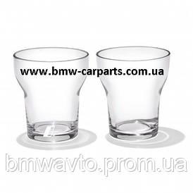 Набор из двух стеклянных стаканов BMW i 2018