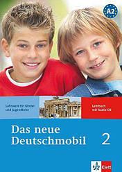 Das neue Deutschmobil 2 Lehrbuch + Audio CD (Учебник по немецкому языку с диском, уровень А2)