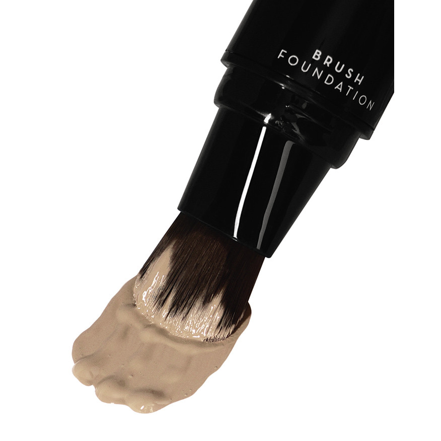 Bronx PBF01 Light Beige Pump-up Brush Foundation