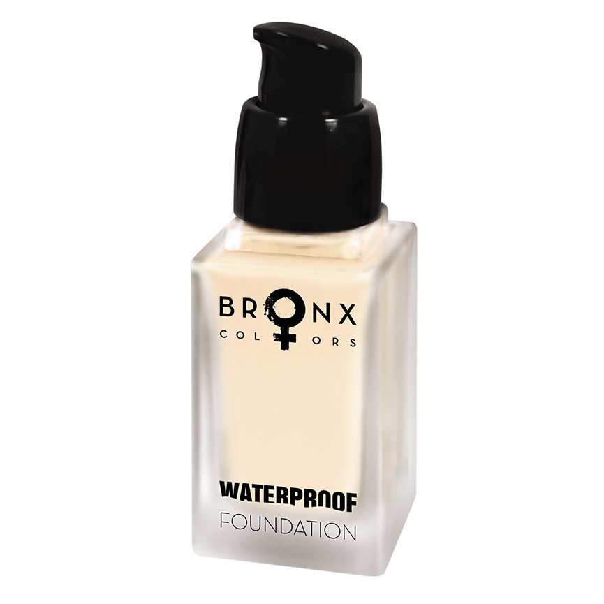 Bronx WPF01 Light Beige Waterproof Foundation