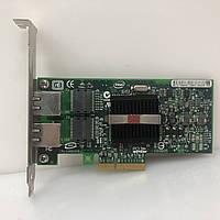 Cерверный сетевой адаптер Intel Pro 1000 PT Dual Port PCI-E HP NC360T, фото 1