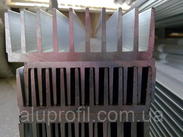 Алюминиевый профиль радиаторный 94х33 Б/П - Алюминиевый радиаторный профиль