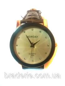 Часы наручные New day A089 white/brown