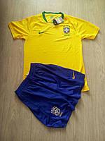 Футбольная форма Бразилия желтая  ЧМ 2018