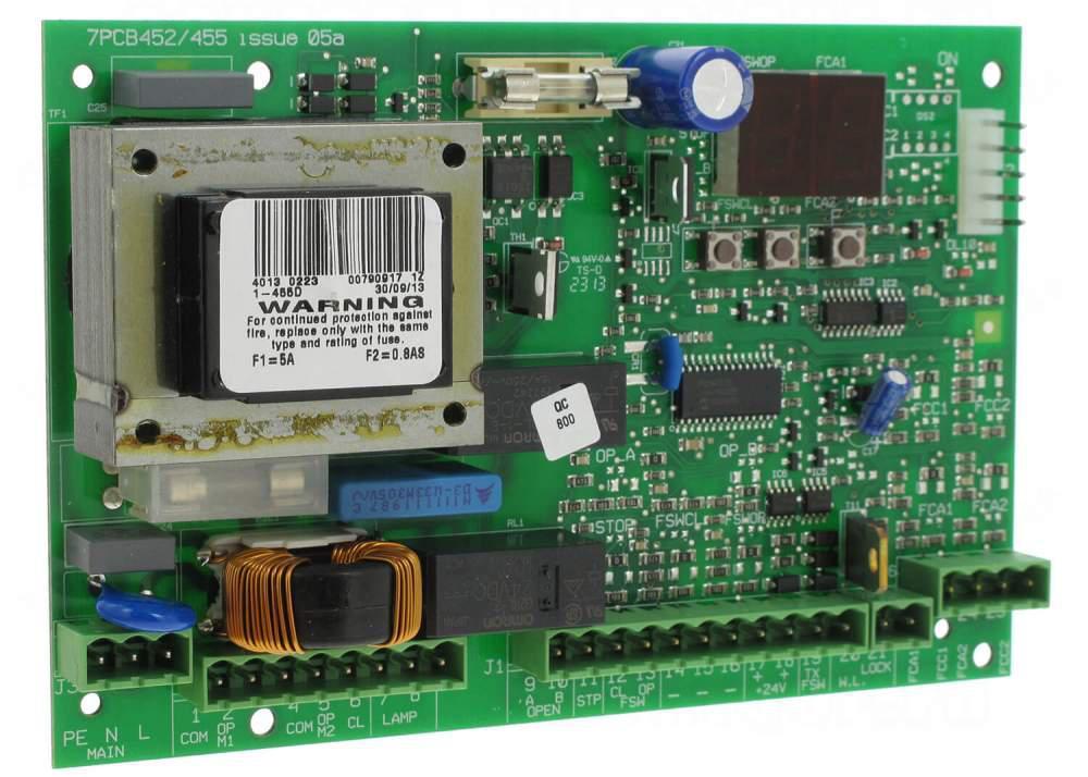 Плата управления Faac 455D