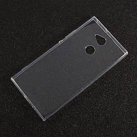Чехол накладка для Sony Xperia XA2 силиконовый ультратонкий, Air Case, прозрачный