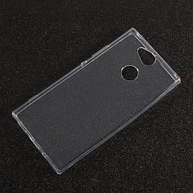 Чехол накладка для Sony Xperia XA2 ULTRA H4213 силиконовый ультратонкий, Air Case, прозрачный