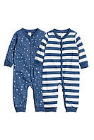 Детские человечки для мальчика (2 шт)  2-4, 4-6, 6-9 месяцев, фото 1