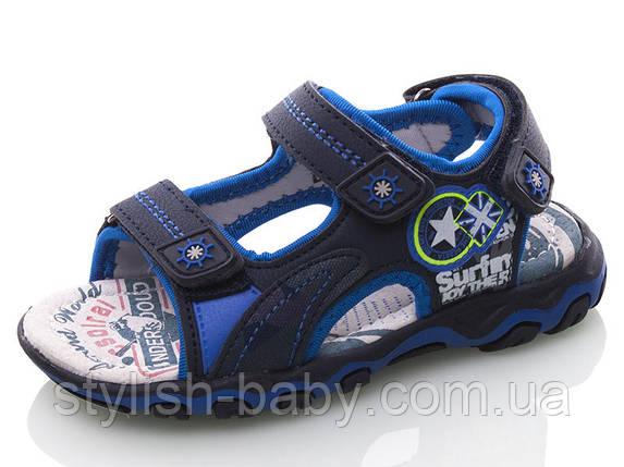 Детская коллекция летней обуви 2018. Детские босоножки бренда Lilin Shoes для мальчиков (рр. с 26 по 31), фото 2