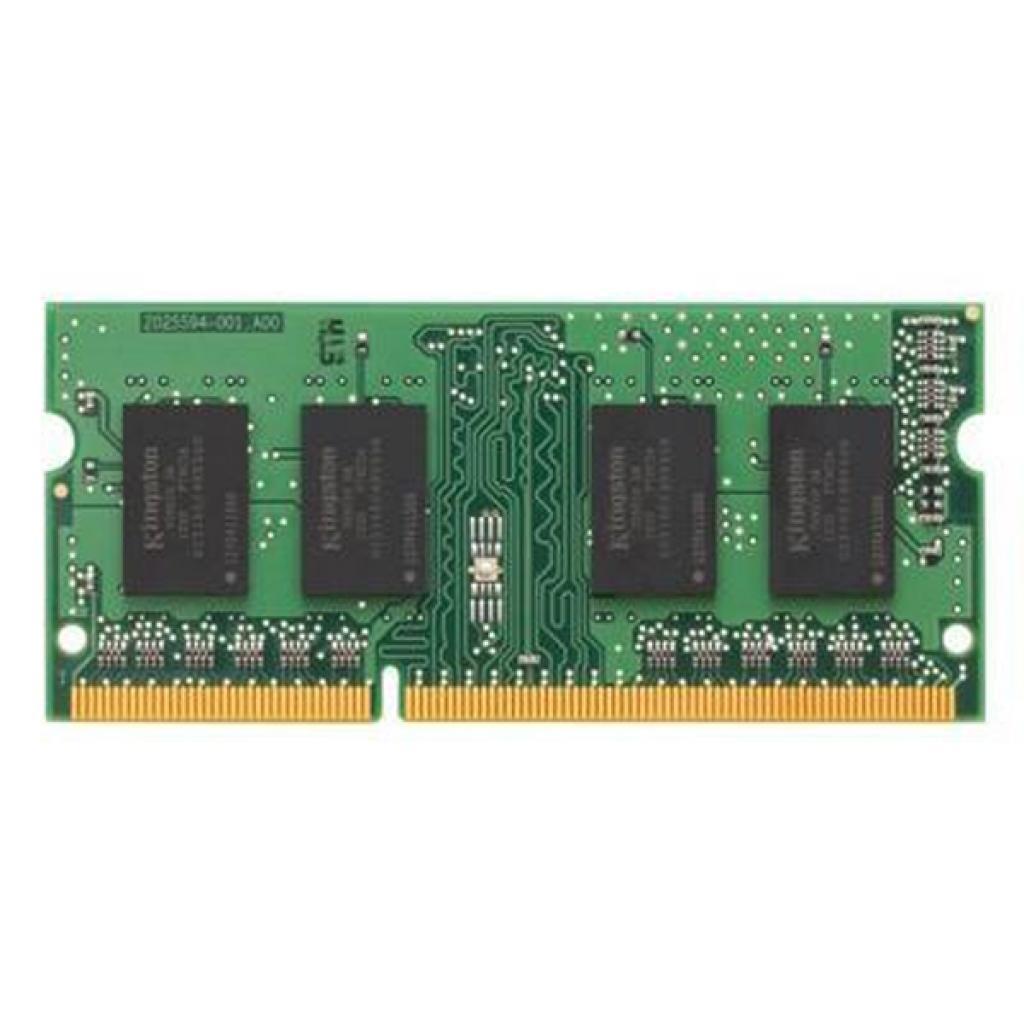 Модуль памяти для ноутбука SoDIMM DDR3 2GB 1600 MHz Kingston (KVR16S11