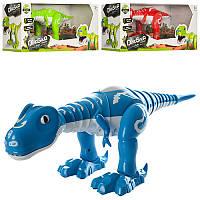 Динозавр2830140-17-15 см, муз, звук, свет, танцует,  3 цвета, на батарейке, в коробке 43-15-17,5 см