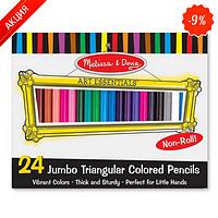 MelissaDoug MD4124  Цветные карандаши 24 цвета (Melissa&Doug)