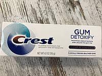 Зубная паста бережное отбеливание зубов  и для десен Crest Gum Detoxify