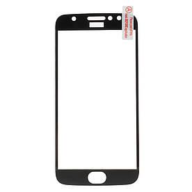 Защитное стекло Full Screen для Motorola Moto G5S Plus, черный