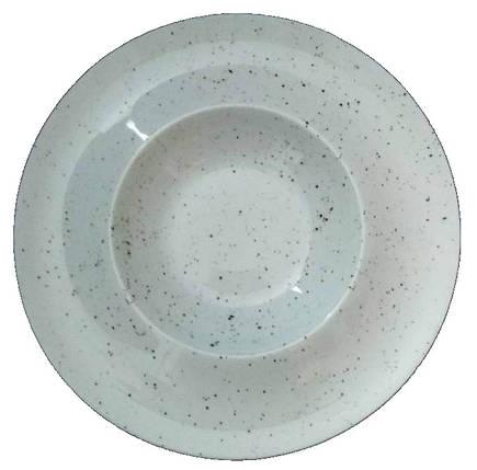 Тарелка-водоворот для пасты Farn Мрамор 9062ST, фото 2