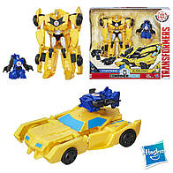 Трансформеры Хасбро набор роботы под прикрытием Бамблби и Стантвинг Transformers Bumblebee and Stuntwing