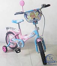 Велосипед Tilly Волшебница 14 (pink+blue) T-21426