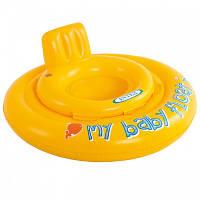 Детский надувной плотик для плавания Intex 56585, 70 см