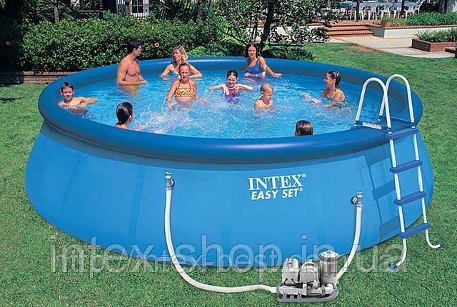 АКЦИЯ!!! Надувные бассейны Intex | Купить надувной бассейн Intex + хлорогенератор, фото 2