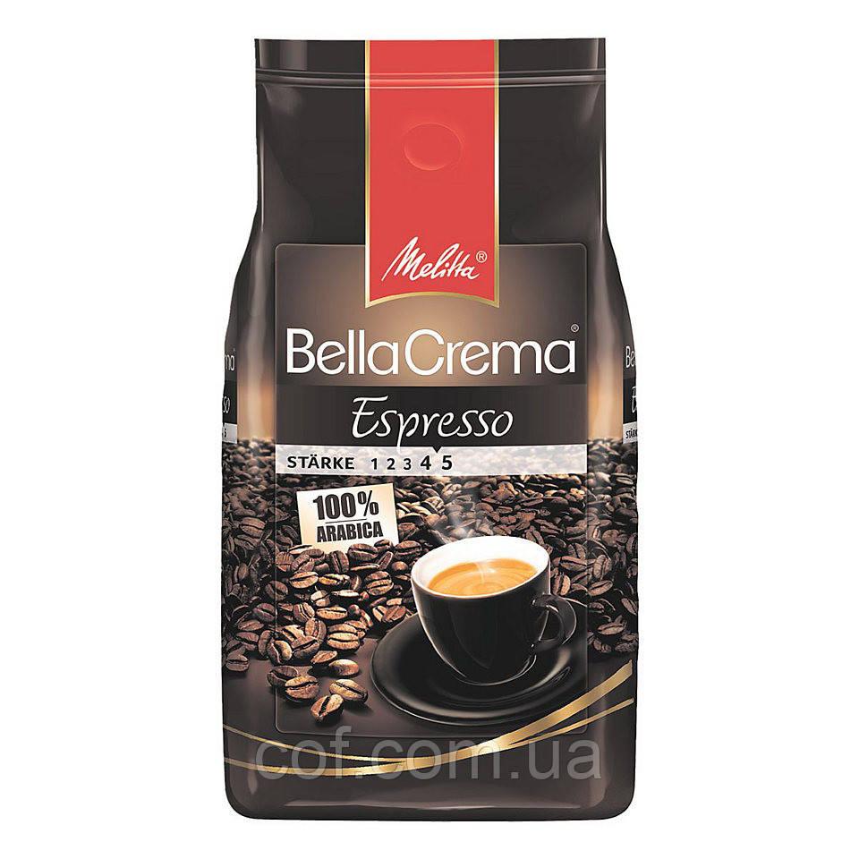 Кофе в зёрнах Melitta Bella Crema Espresso 1кг