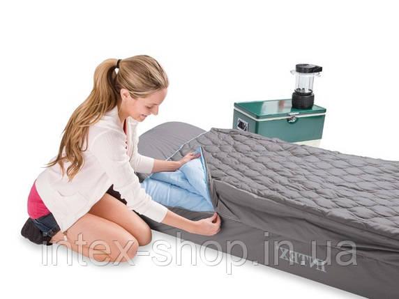 Надувной матрас Intex, 66998 со спальным мешком (91х193х25 см), фото 2