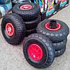 Комплект резиновых колес для детских электромобилей (джипы и квадроцклы) - купить оптом