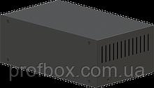 Корпус металевий MB-15 (Ш250 Г150 В90) чорний, RAL9005(Black textured)