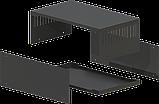 Корпус металевий MB-15 (Ш250 Г150 В90) чорний, RAL9005(Black textured), фото 2