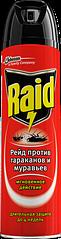 Raid Bang Аэрозоль от ползающих насекомых тараканов и муравьев 300 мл