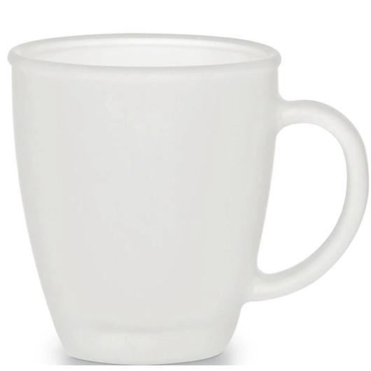 Чашка стеклянная матовая CIRCEYA Frozen 350 мл. для нанесения логотипа