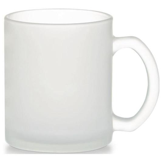Чашка матовое стекло  FRESIA Top 330 мл