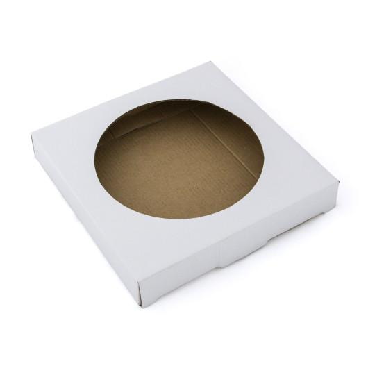 Упаковка для тарелки сувенирной, диаметр 20 см.  51КТ01С03