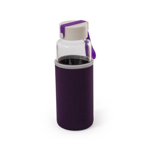 Бутылка для воды, чая, кофеMILLENNIUM 450 мл, стекло термостойкое