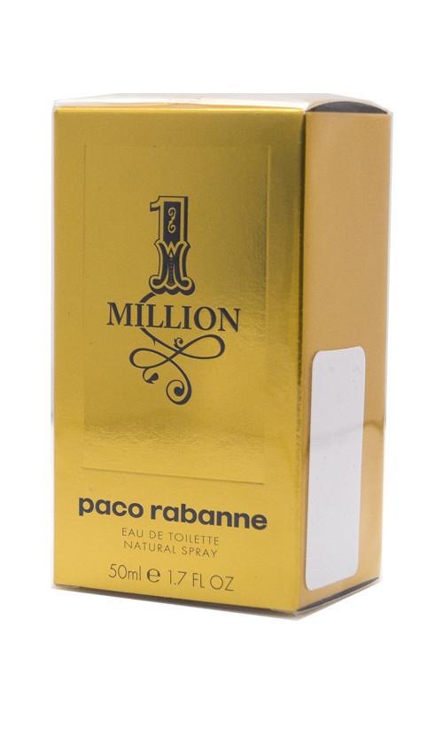 Туалетная вода Paco Rabanne 1 MILLION для мужчин 50 мл Код товара 10128
