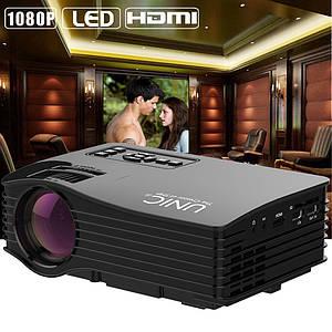 Портативный проектор  UC36  мини домашний кинотеатр LED LCD