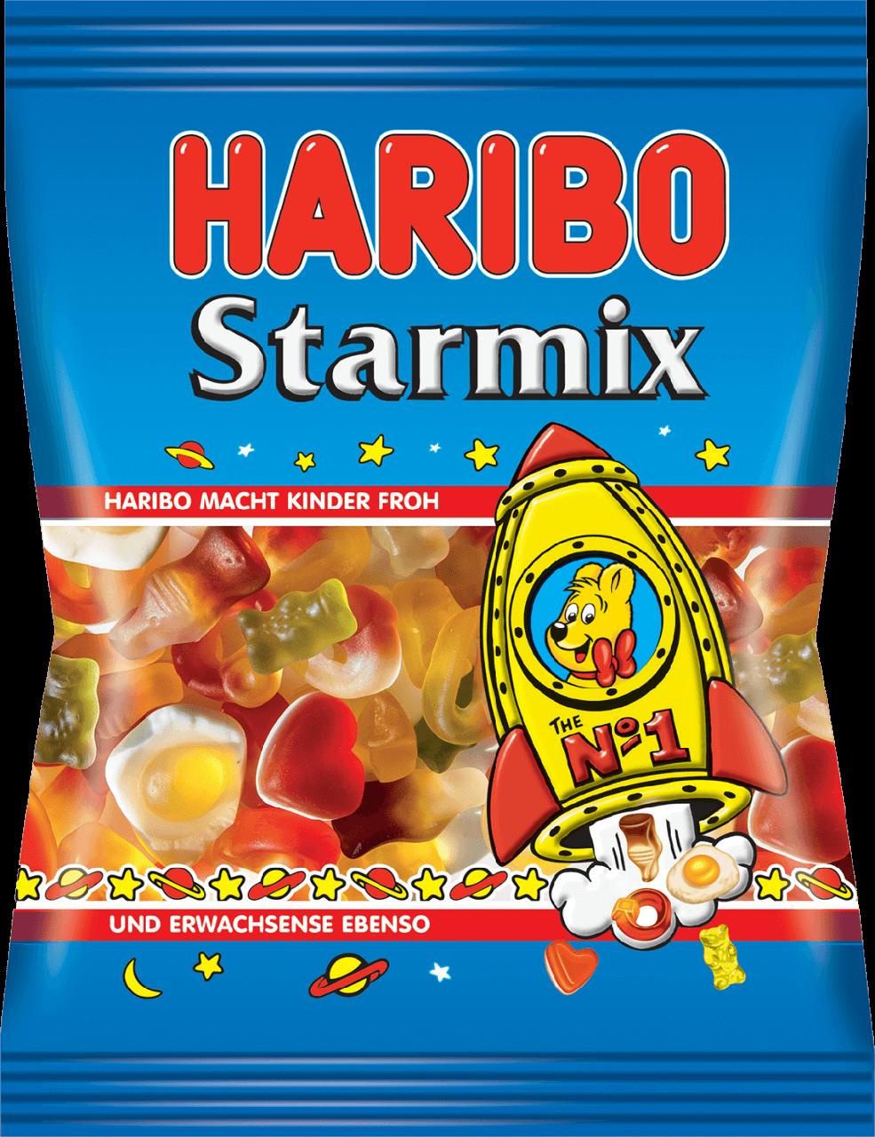 Цукерки жувальні Haribo 100г Зоряний Мікс