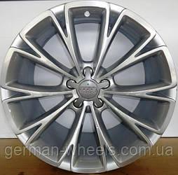 """Диски 19"""" Audi А8 дизайн 10 Y-образных спиц цвет  brillantsilber параметры 9J x 19'' 5 x 112 ET 35"""