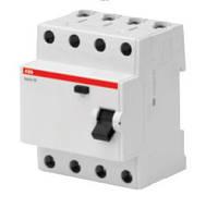 Устройство защитного отключения 4Р 30мА тип АС, BASIC M, ABB