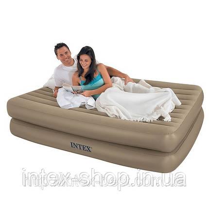 Надувная кровать Intex 66704 (152х203х48 см), фото 2