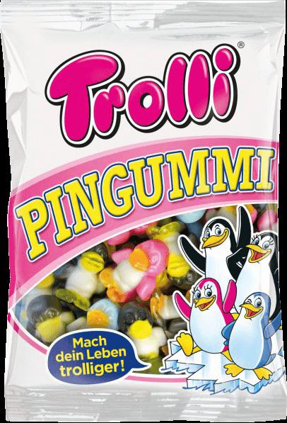 Цукерки жувальні Trolli 175г Пінгуммі