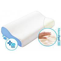 Анатомическая подушка «с памятью» Comfort Wave размер L 40х60х11/9 см ТМ Sonex SO102070, фото 1