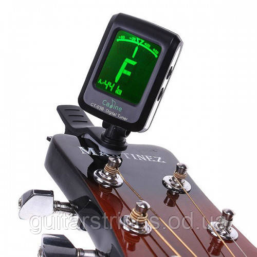Guitar Tuner Cadine CT-03B тюнер прищепка хроматический