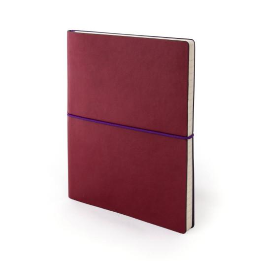 Записная книжка ENjoy SX, красный, к/б, линия, PRINT