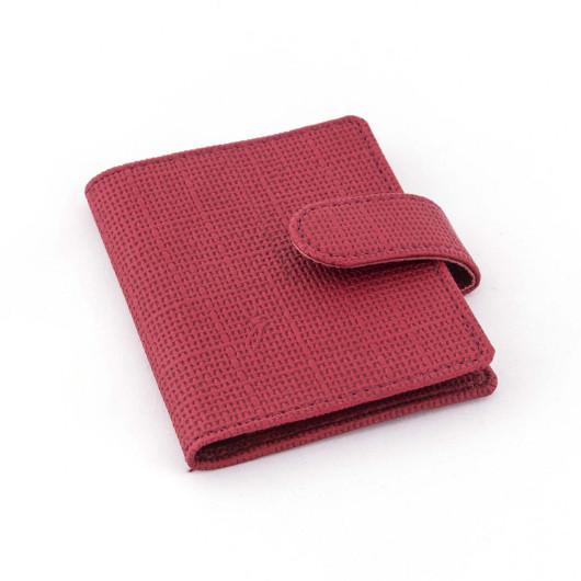 Визитница на 1 карман с хлястиком, JAZZ